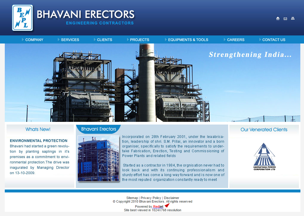 Bhavani Erectors Pvt. Ltd. (BEPL),
