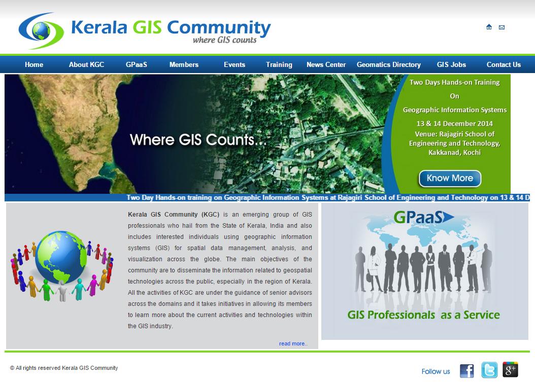 Kerala GIS Community (KGC)
