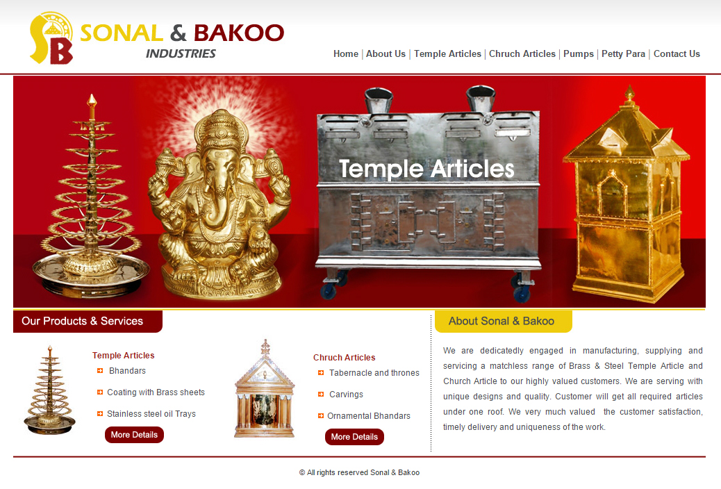 Sonal & Bakoo Industries