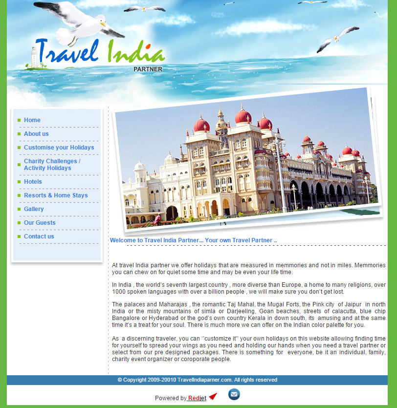 Travel India Partner